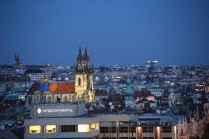 Panorama di Praga.