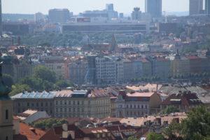 Panorama di Praga dal Castello,.