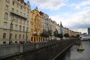 Sembrano le case colorate di Copenaghen.
