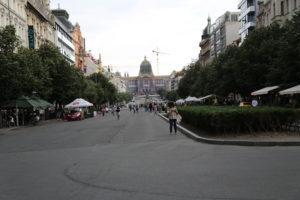 Piazza San Venceslao.