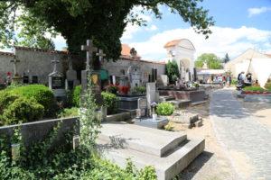Cimitero presso l'Ossario di Sedlec.