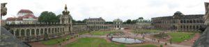 Zwinger, panoramica ottenuta dall'unione di alcuni scatti.