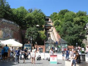 SIKLO, funiculare per il Castello.