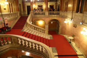 Interno del Teatro dell'Opera.