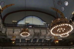 La Sinagoga Ortodossa, interno.