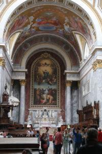 Esztergom, Cattedrale di Nostra Signora e di Sant'Adalberto - interno.
