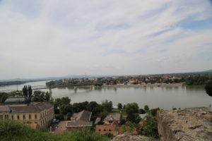 Oltre il Danubio la Slovacchia vista dalla cattedrale di Nostra Signora e di Sant'Adalberto - interno.