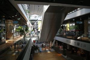 Interno del Centro Commerciale.