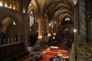 Chiesa di Mattia, interno.
