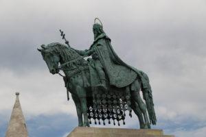 Statua di Stefano I d'Ungheria.