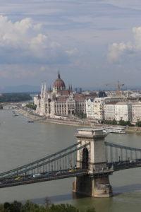 Vista dal Castello di Buda.