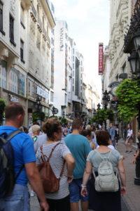 Váci utca, la via della movida.