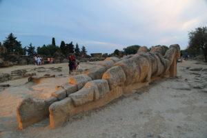 Agrigento, Valle dei Templi, Il Telamone.