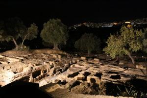 Agrigento, Valle dei Templi, la Necropoli.