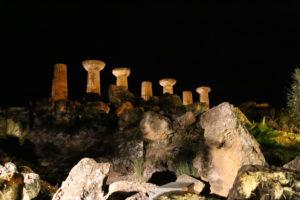 Agrigento, Valle dei Templi, Tempio di Ercole.