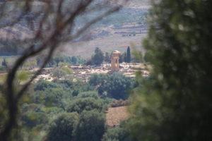Agrigento, Valle dei Templi, Tempio di Castore e Polluce.