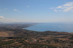 Sciacca (AG) - Vista da Monte Kronio.