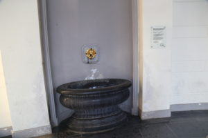 Elisenbrunnen, fonte di acqua termale.