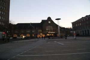 Stazione ferroviaria di Aquisgrana.