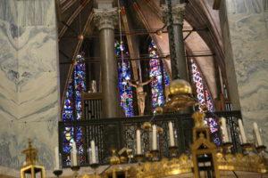 La Cattedrale di Aquisgrana.
