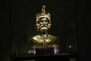 Visita al tesoro - Busto di Carlo Magno.