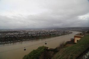 Il Reno, vista dalla Fortezza.