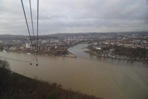 Panorama dalla Cabinovia.