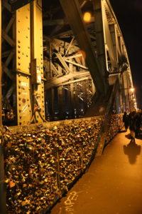 Il ponte Hohenzollern.