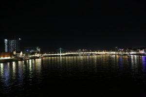 Il Reno e il ponte Deutzer.