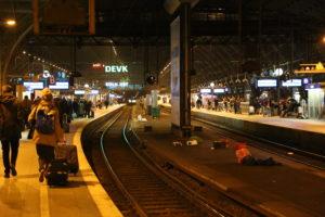 La stazione ferroviaria HBF.