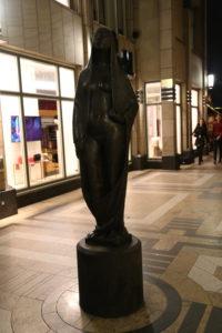 Gaea Bronzeskulptur