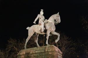 Statua equestre del Kaiser Guglielmo II.