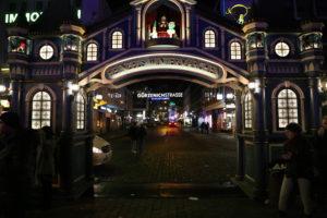 Heumarkt, i mercatini di Natale.