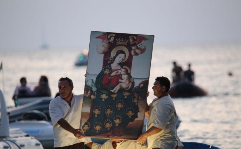 Cornino (TP), lo sbarco della Madonna.