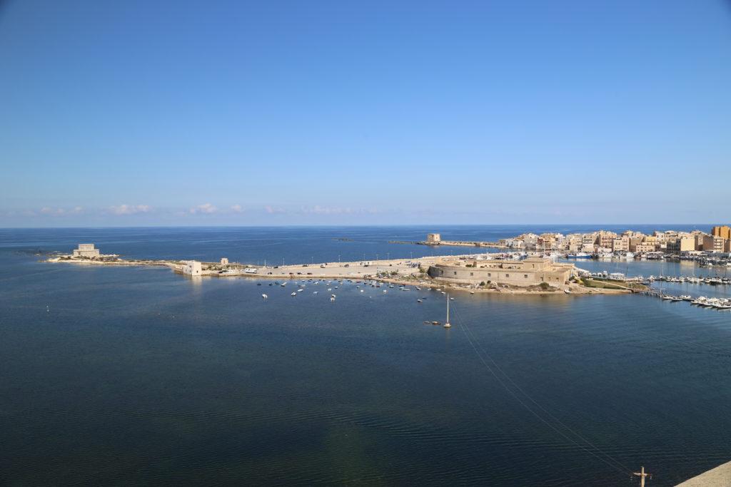 Vista da sopra la Torre della Colombaia.