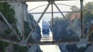 Il Canale di Corinto.