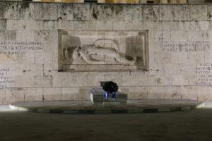 Piazza Sintagma - Monumento al Milite Ignoto.