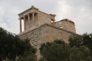 Acropoli, Tempio di Atena Nike .