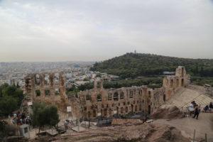 Acropoli, Odeon di Erode Attico.