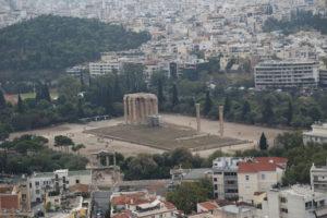 Tempio di Zeus Olimpio.