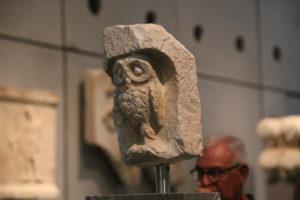 Museo dell'Acropoli.La Civetta, simbolo di Atene.