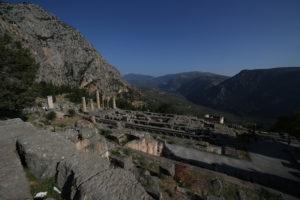 Tempio di Apollo visto dal Teatro.