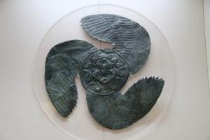 Il Museo Archeologico - Reperti (Ricorda la Trinacria)