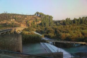 Il fiume Alfeo.