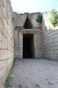 Tesoro di Atreo o tomba di Agamennone.