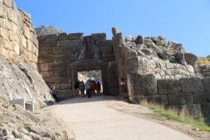 Micene, la Porta dei Leoni.