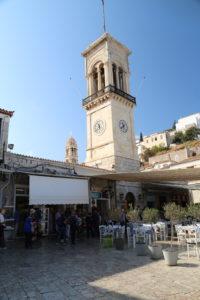 Idra - Santa Cattedrale dell'Assunta, il Campanile.