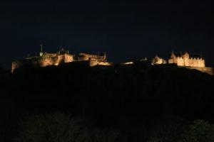 Il Castello visto da Princes Street.
