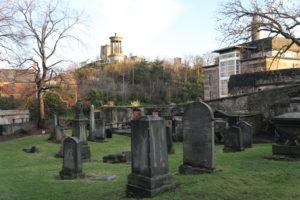 Old Calton Cemetery.