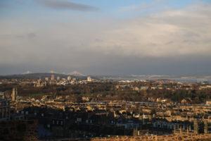 Vista da Calton Hill.